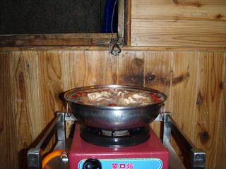 陽明山 地鶏鍋-2