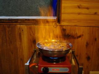 陽明山 地鶏鍋