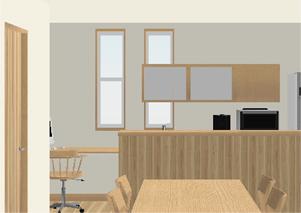 キッチン 窓