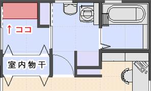 洗面台 配置図