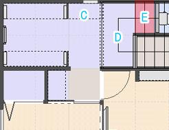 Eのスペース