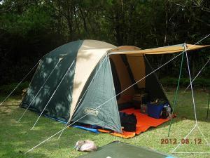 父のテント