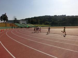 800メートル走