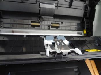 ScanSnapS1500のパッドユニットを装着しました