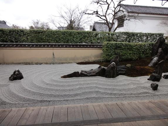 大徳寺瑞峯院庭