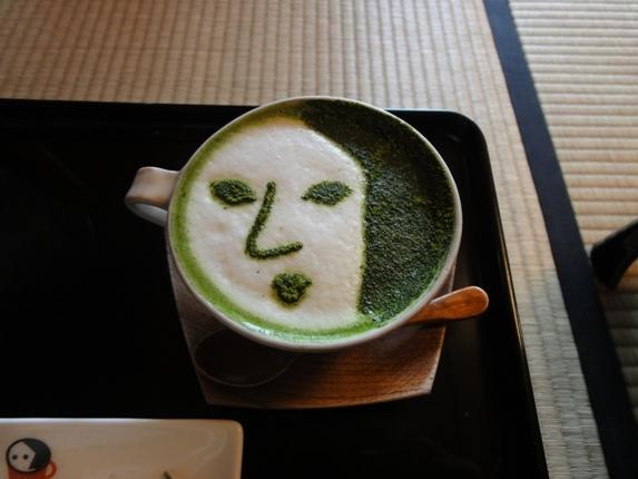 よーじや抹茶カプチーノ