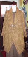 茶羽織コート