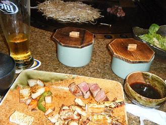 120510 グアムでの晩ご飯「鉄板焼き けやき」