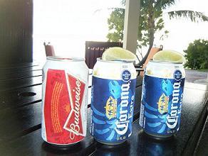 120510 サンセット待ち!!ビールで乾杯!