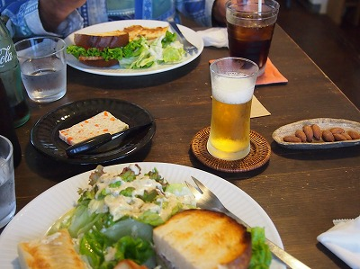 cafeランチ