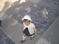 娘1歳@沖縄。