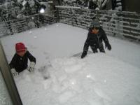 2013 雪 遊び中