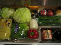 冷蔵庫 野菜室上段