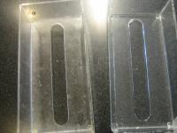 テッシュケース 磨き ビフォーとアフター