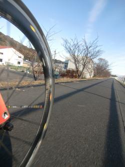 冬の朝比奈川
