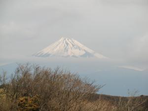 西伊豆空道の富士山