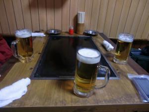 取り敢えず=ビール