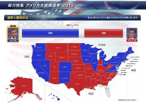 フロリダ! まだ最終的な票数の判明しないアメリカ大統領選挙