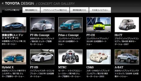 ちょっと先の未来をトヨタのコンセプトカーから想像してみる