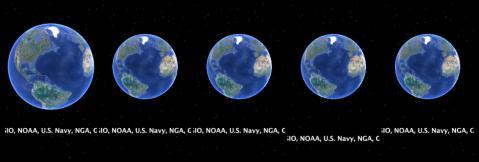 まだまだ募集中!地球で時計を作るグーグル・アース・クロック