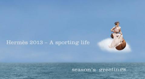 2013年、エルメスのテーマは「A sporting life」