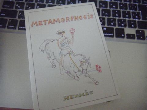 エルメス、来年のテーマは「メタモルフォーズー 変身」です