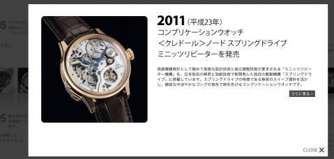 セイコー、130年の腕時計の歴史