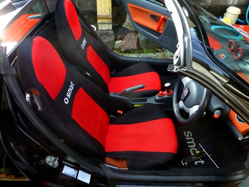 元のシート運転席側