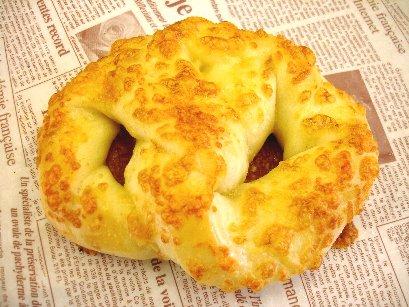 ソフトプレッツェル(チーズ)