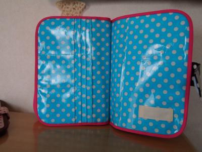 051*3人用母子手帳ケース