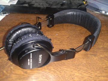 MDR-CD500 修理前