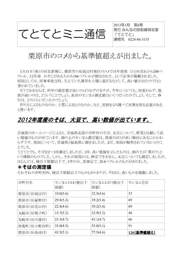 ミニ通信2013-1-1