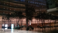 東京国際フォーラム夕景