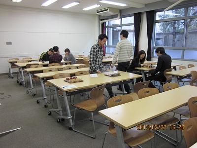 2013.2.22 交流会 検討室