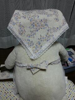 エプロン・三角巾 後ろ