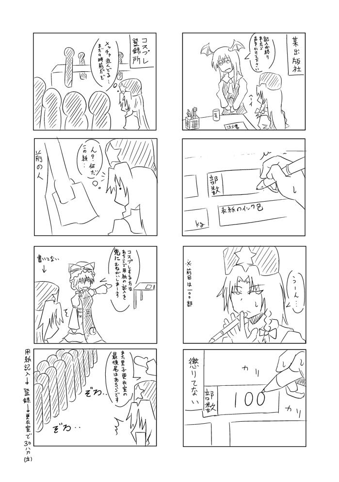 例大祭9オフレポ漫画