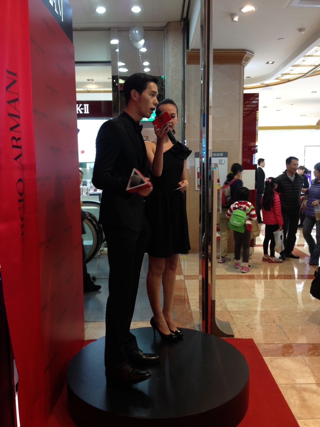 YT:Giorgio Armani 新光三越南西店開幕