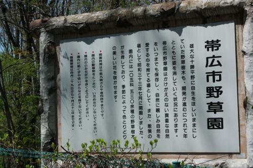 帯広野草園