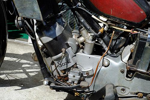 スコットの水冷エンジン