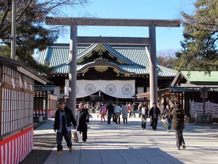 2013/12/29 靖国神社参拝