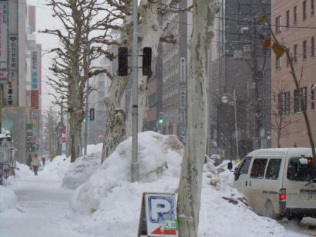 雪降り 002