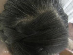 根元の白髪がっ