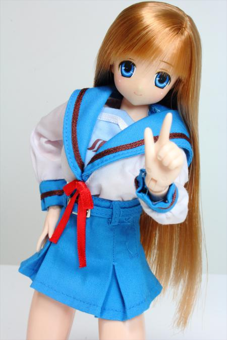 北高制服のサアラさん1