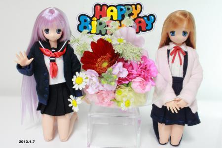 お誕生日のサアラさん2