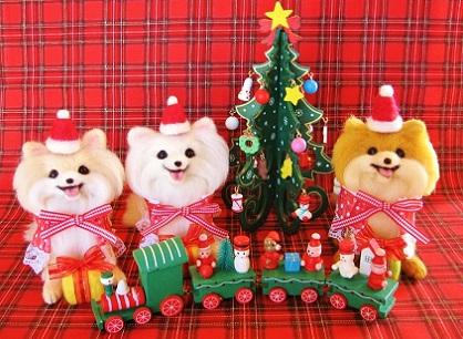 クリスマスポメ
