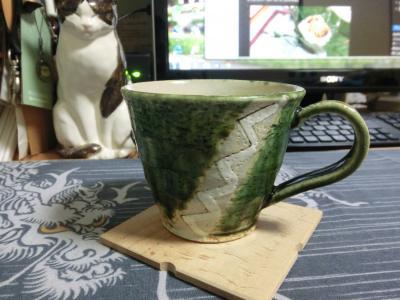 不動窯マグカップ