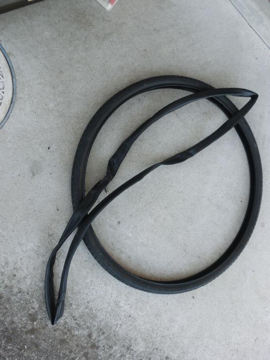 チューブとタイヤ