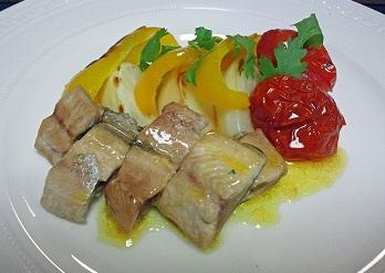 さんまと野菜のオーブン焼き2012