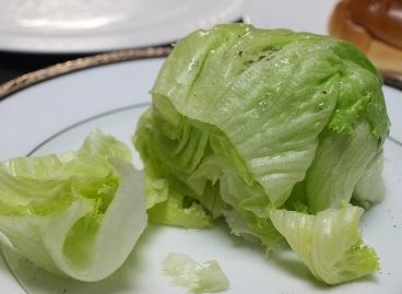 卵レタスサラダ(卵抜き)