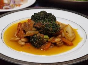 同窓会夜のお料理2012